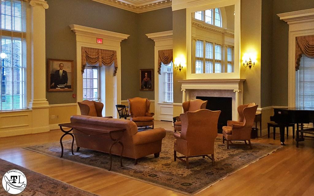Inside Saunders Hall at UVA via @TravelLatte.net