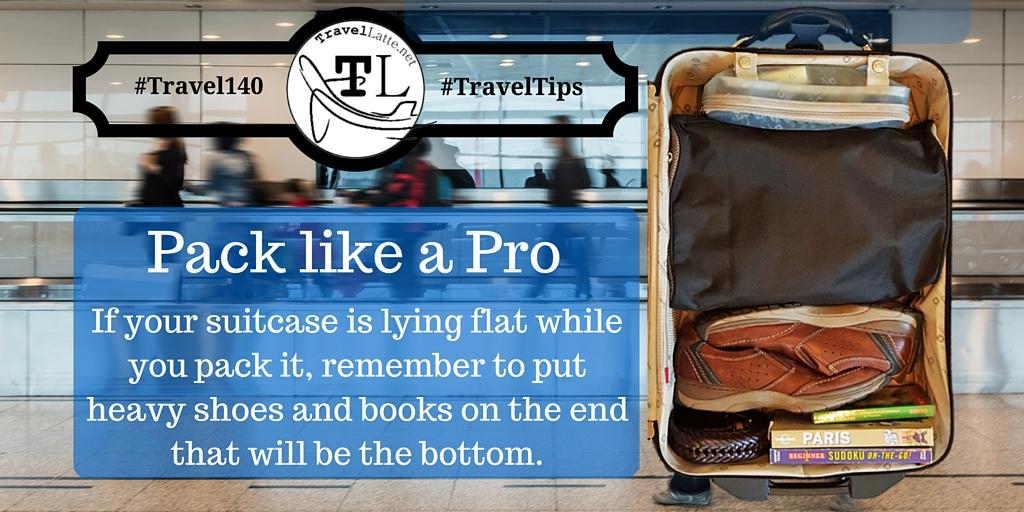 Pack Like a Pro - Travel Tips via @TravelLatte.net