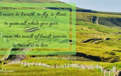 Hans Christian Anderson Travel Quotes via @TravelLatte.net