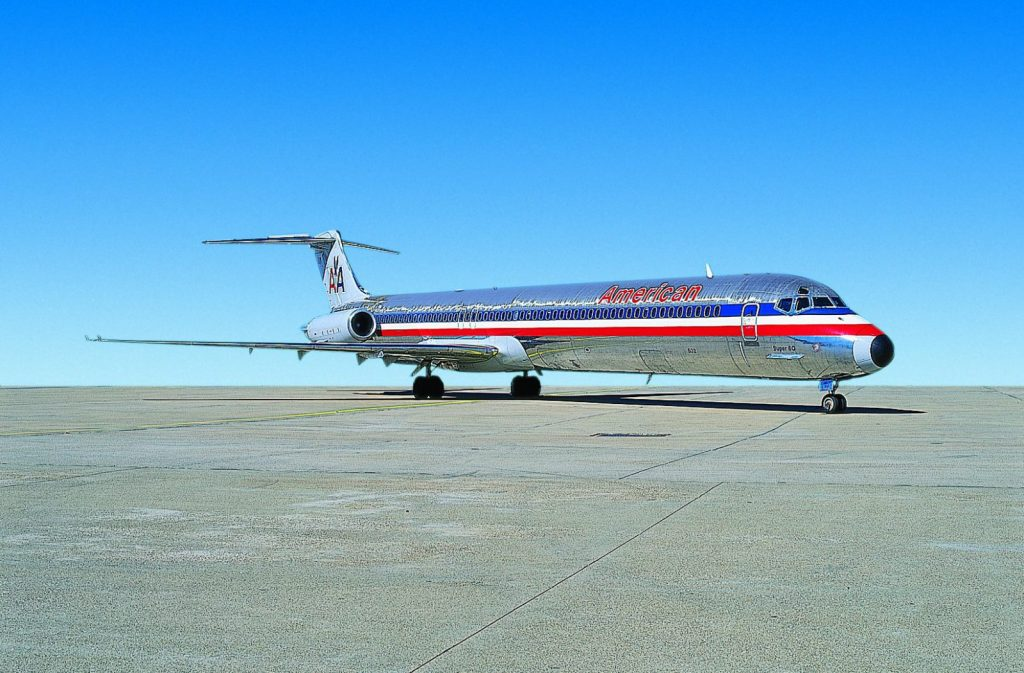 American Airlines Retires MD 80 via TravelLatte.net