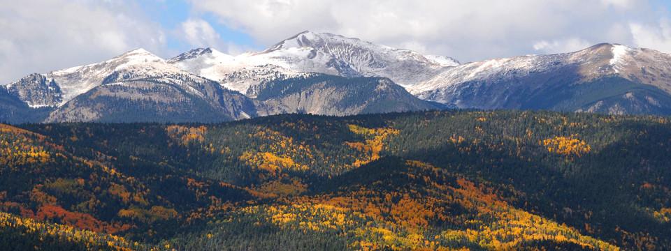 Autumn Color Across America - Wheeler Peak via @TravelLatte.net
