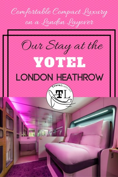 Our Stay at Yotel Heathrow via @TravelLatte.net