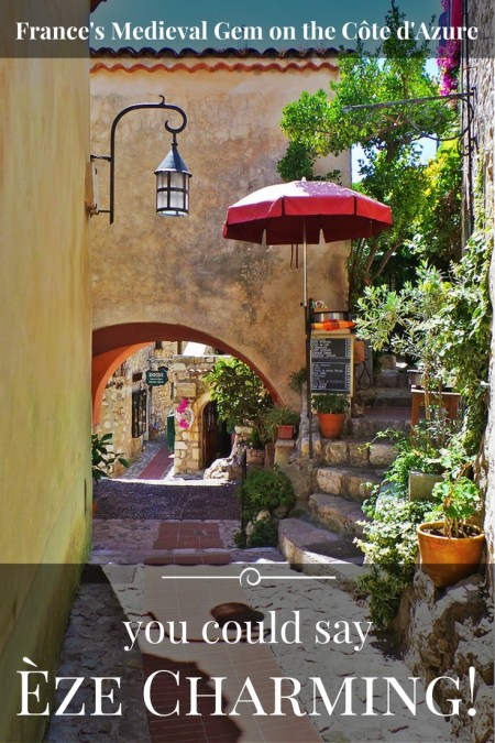 The charming Medieval village of Èze France via @TravelLatte.net