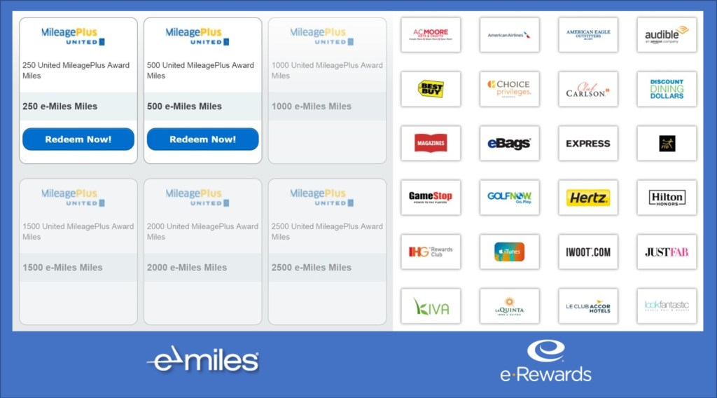 Earn travel money with eMiles & eRewards, via @TravelLatte.net