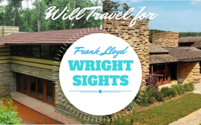 Will Travel for the (Frank Lloyed) Wright Sights, via @TravelLatte.net