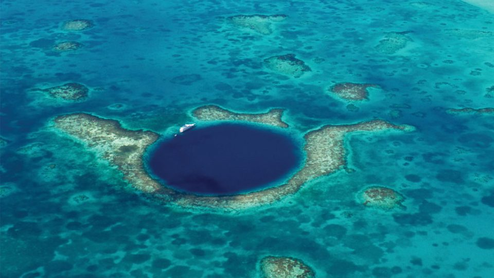 The Great Blue Hole, Where to Go for the Best of Belize via @TravelLatte.net