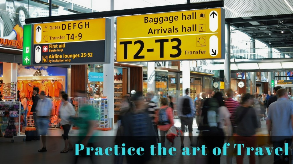 New Year's Travel Resolution #2 -Practice Travel - via TravelLatte.net