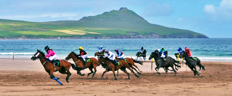 Gems of Ireland's Dingle Peninsula: Horse Racing at Beal Ban, via @TravelLatte