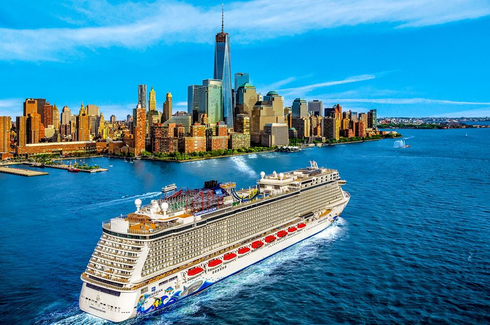 Norwegian Escape in New York City