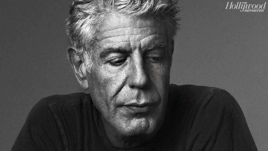 CNNs Anthony Bourdain in The Hollywood Reporter