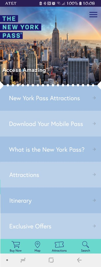 New York Mobile Pass:  Seeing NYC with the New York Pass on TravelLatte.net