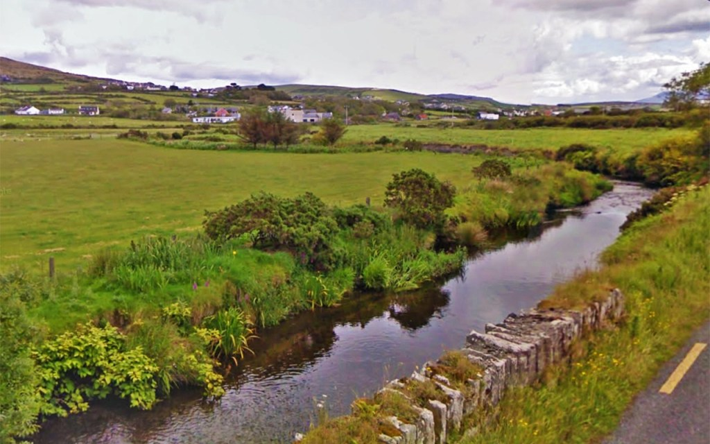 Milltown River on Ireland's Scenic Slea Head Drive via @TravelLatte.net