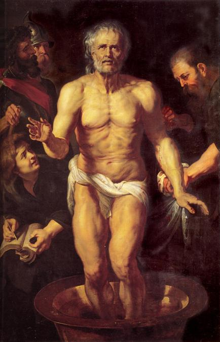 Death of Seneca by Rubens via @TravelLatte.net