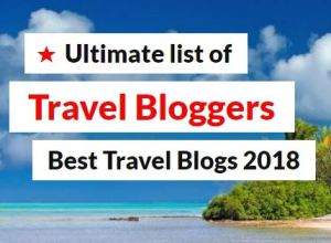TravelLatte on Best Travel Bloggers 2018