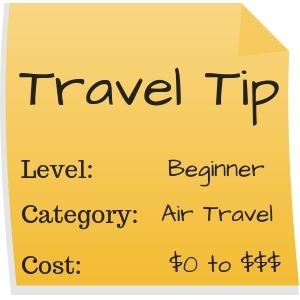 Travel Tip Sticky - How to Get Your Best Seat on a Plane - TravelLatte