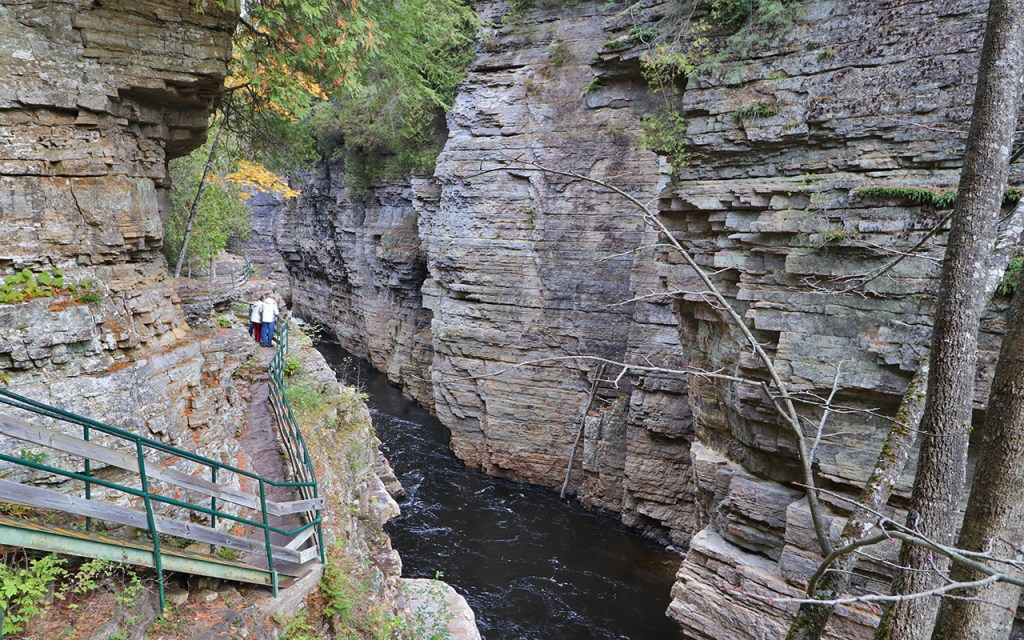 Inner Sanctum - Visiting Ausable Chasm, the Adirondack's Grand Canyon - TravelLatte
