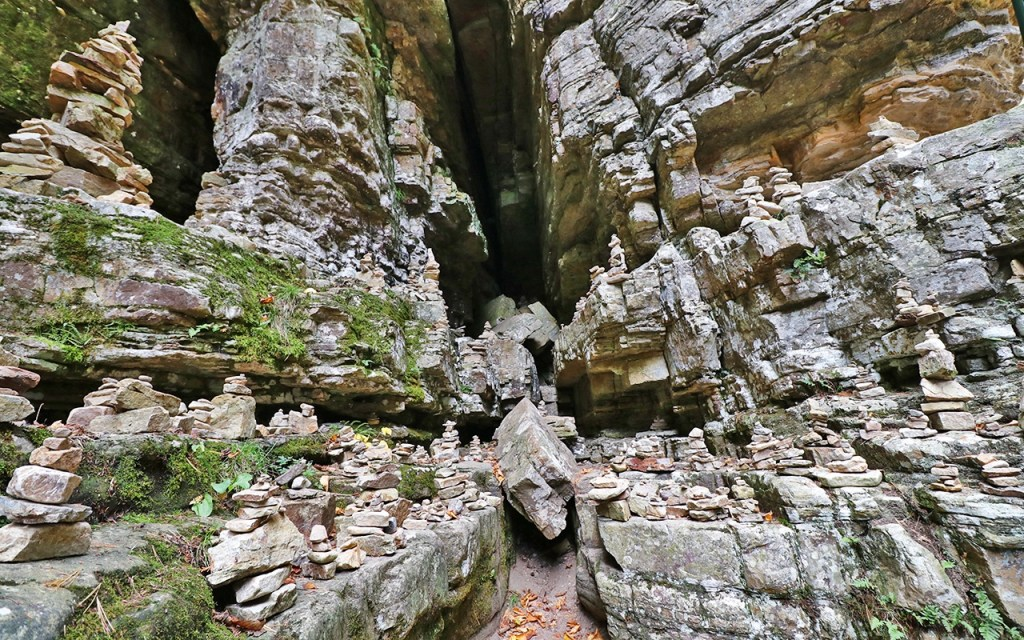 The Cathedral - Visiting Ausable Chasm, the Adirondack's Grand Canyon - TravelLatte