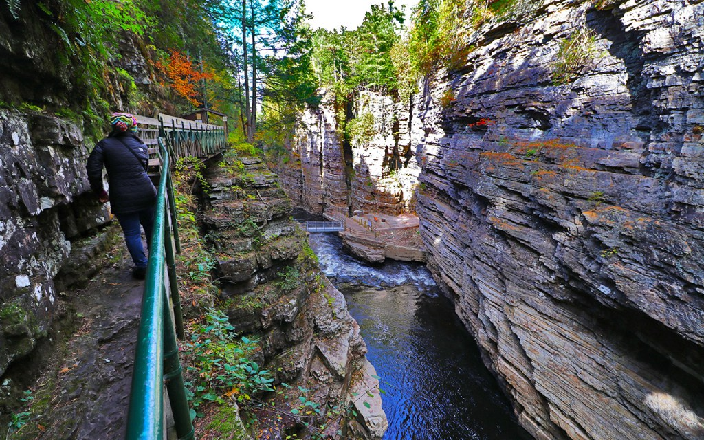 Table Rock - Visiting Ausable Chasm, the Adirondack's Grand Canyon - TravelLatte
