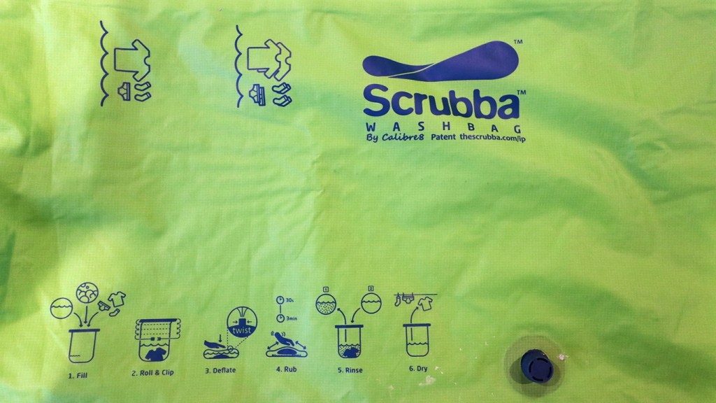 Scrubba Washbag Instructions via TravelLatte.net