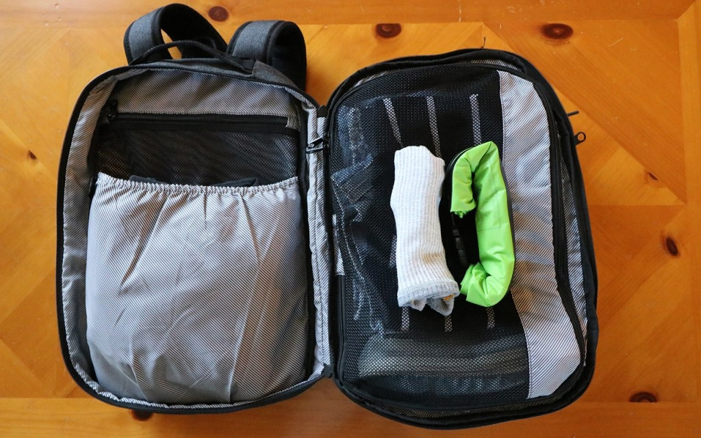 Small & Light enough to pack anywhere - the Scrubba Washbag via TravelLatte.net