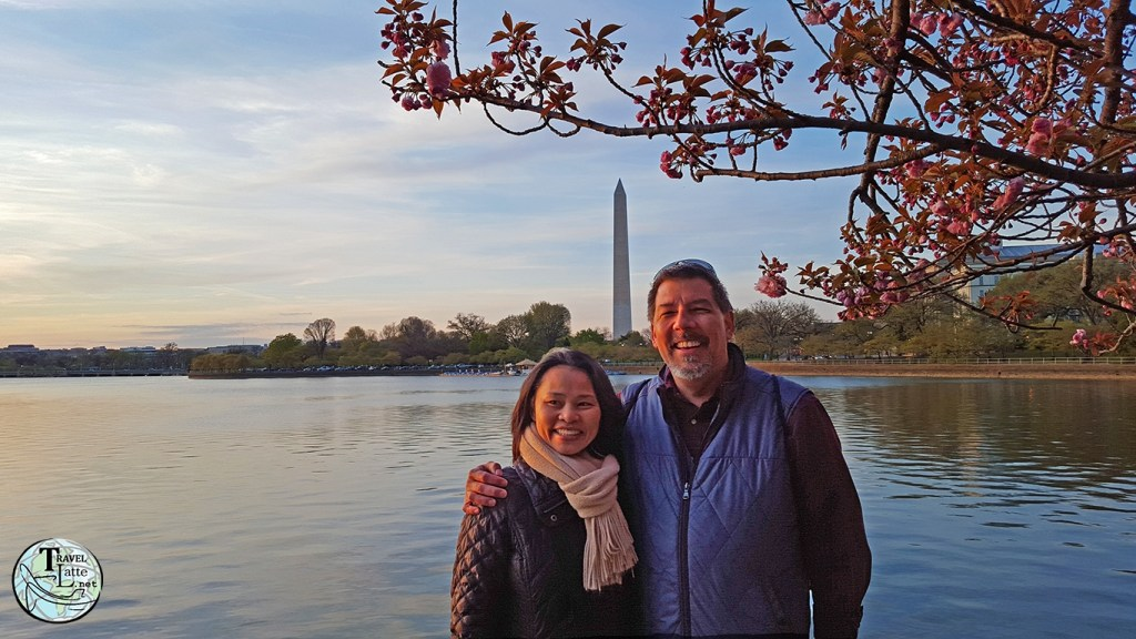 Rob and Ann of TravelLatte in Washington DC - Presidents Day Road Trip