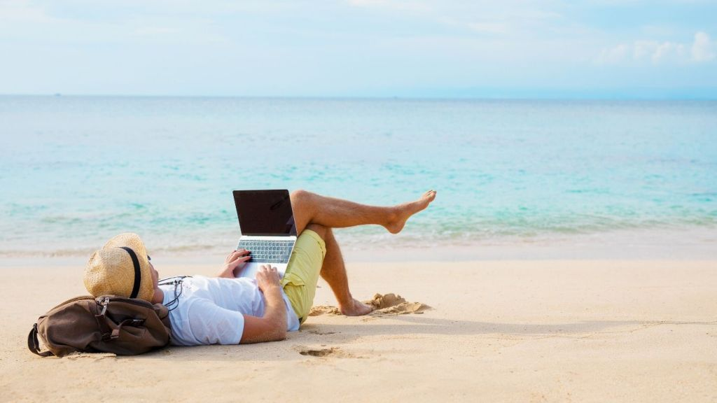 On the Beach - Armchair Traveler - World of Virtual Travel - TravelLatte
