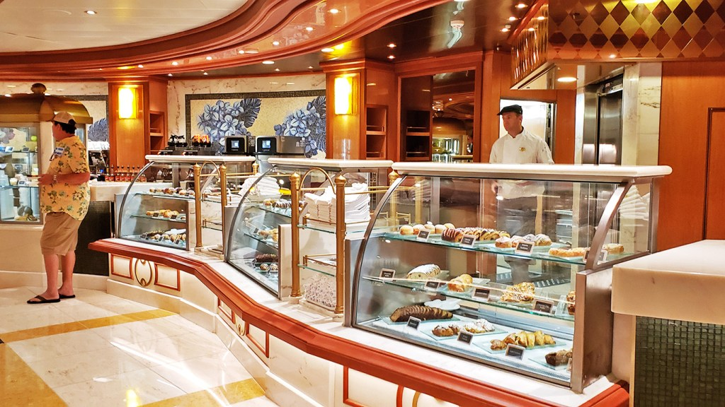TravelLatte - Why We Love to Cruise - Sky Princess International Cafe