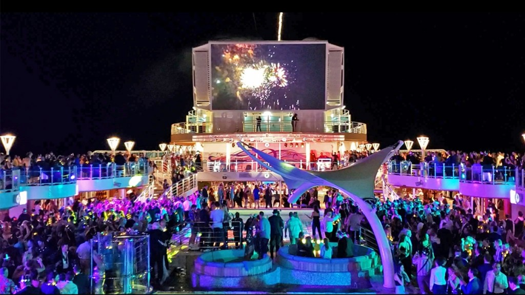 TravelLatte - Why We Love to Cruise - Sky Princess NYE Party