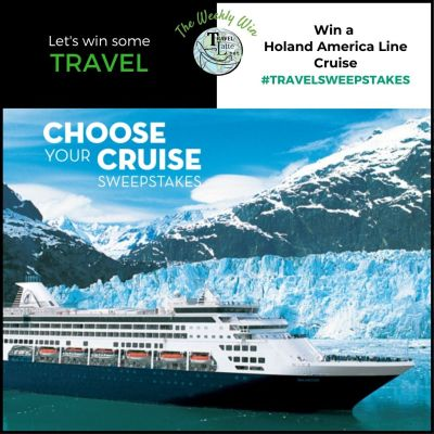 Win a Holland America Lines Cruise - Travel Sweepstakes on TravelLatte