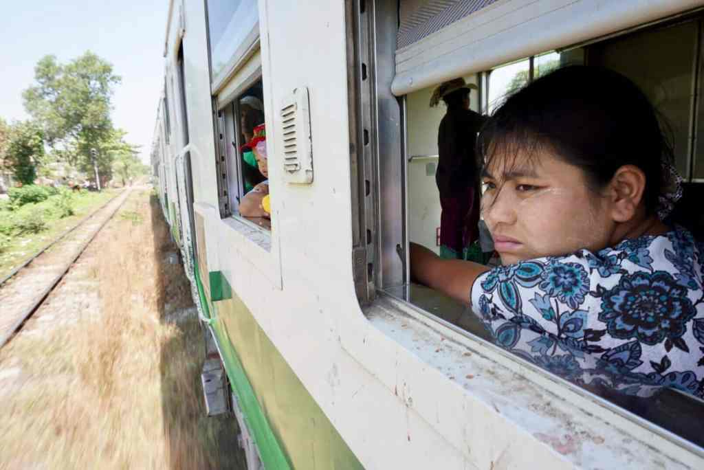 Backpacking Myanmar - Yangon Circle Train