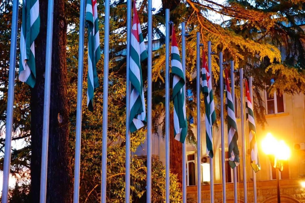 Abkhazian flags