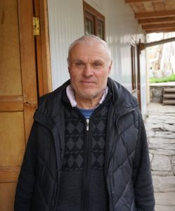 A Svan man in Svaneti Georgia