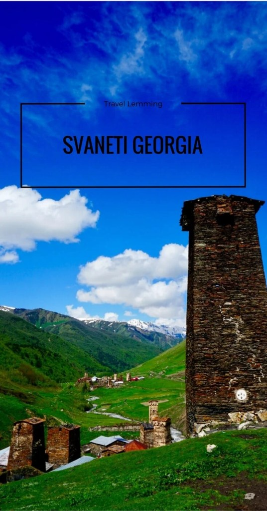Svaneti Georgia Pinterest pin