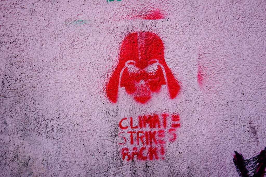 Belgrade Street Art: Climate Strikes Back