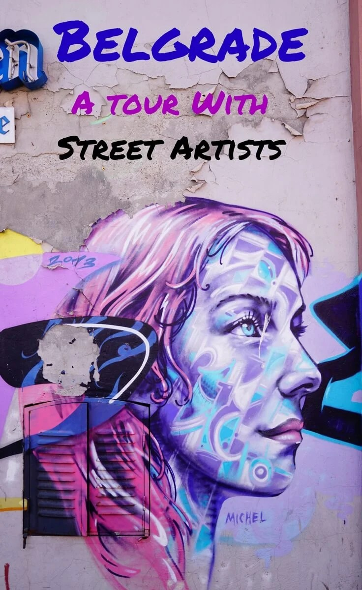 Take a tour of Belgrade's street art scene with the artists themselves. I recently visited Belgrade, Serbia and had a great time exploring the amazing street art of the city with a new company founded by street artists.