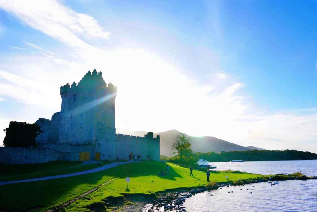 What to See in Ireland in 7 Days: Ross Castle in Killarney