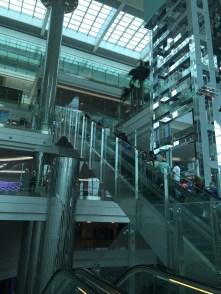 Or you can take a escalator