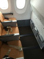 First row leg room