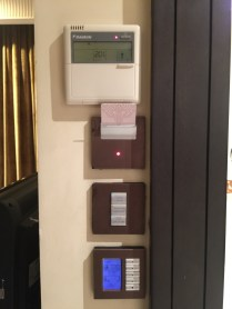 AC and room controls