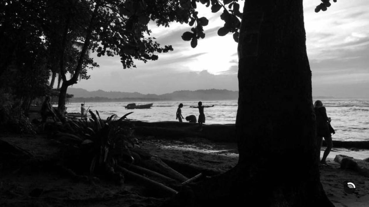 Caribbean Sea. Puerto Viejo, Costa Rica.