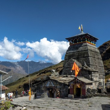 World's highest Shiva temple – Tungnath