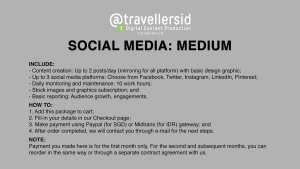 @TravellersID Social Media Services - Medium