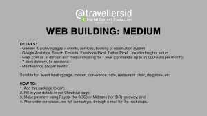 @TravellersID Web Building Services - Medium
