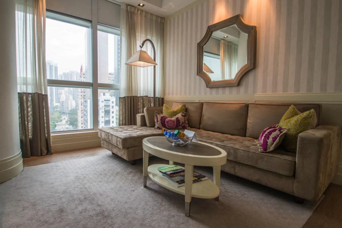 Bij Lanson Place Hotel Hong Kong heb je een appartement voor jezelf