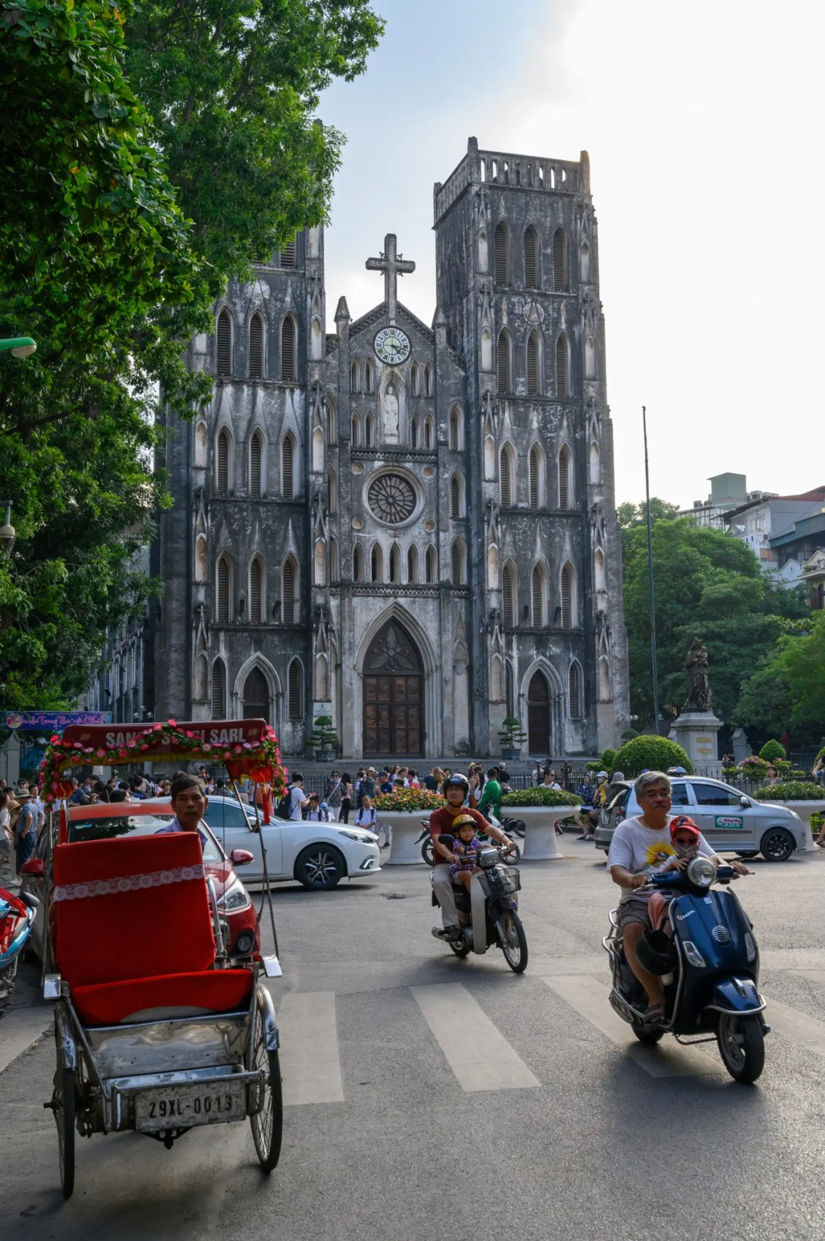 Joseph Cathedral in Oud Kwart Hanoi