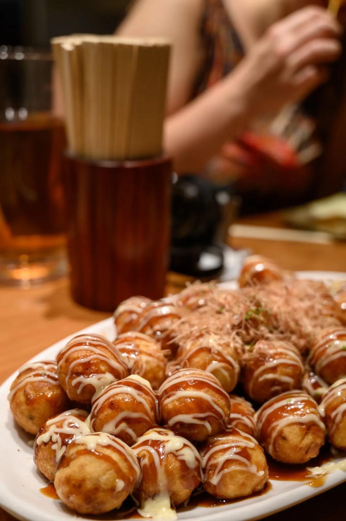 Japans eten in een restaurant in Japan