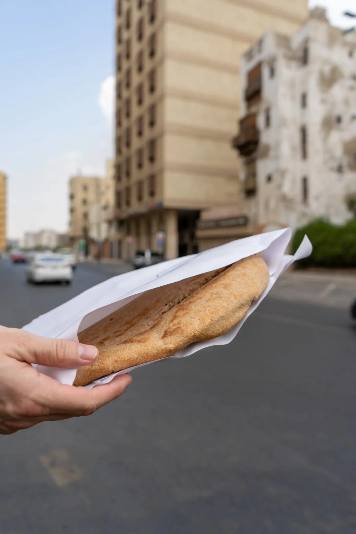 Straatvoedsel in Jeddah