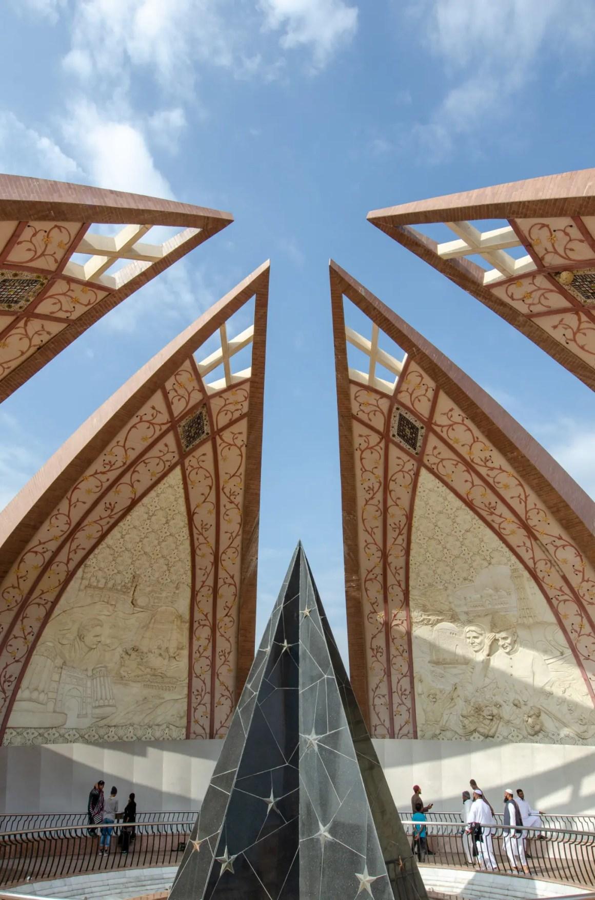 Monument van Pakistan in Islamabad
