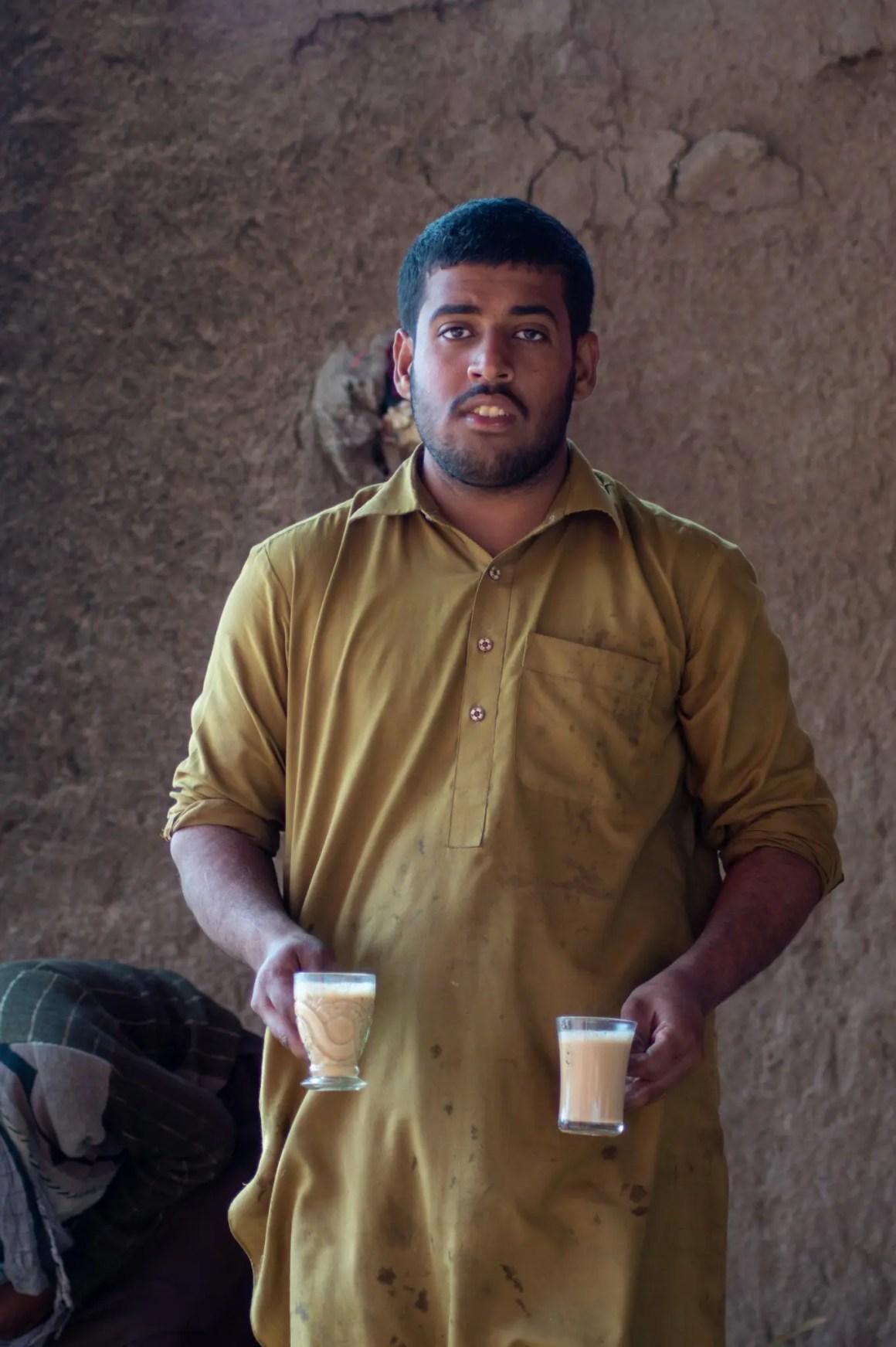 Theeverkoper in de Cholistan-woestijn