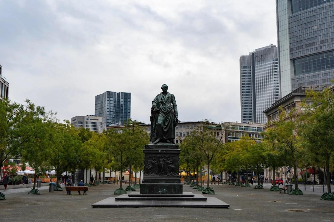 Goethe in Frankfurt am Main